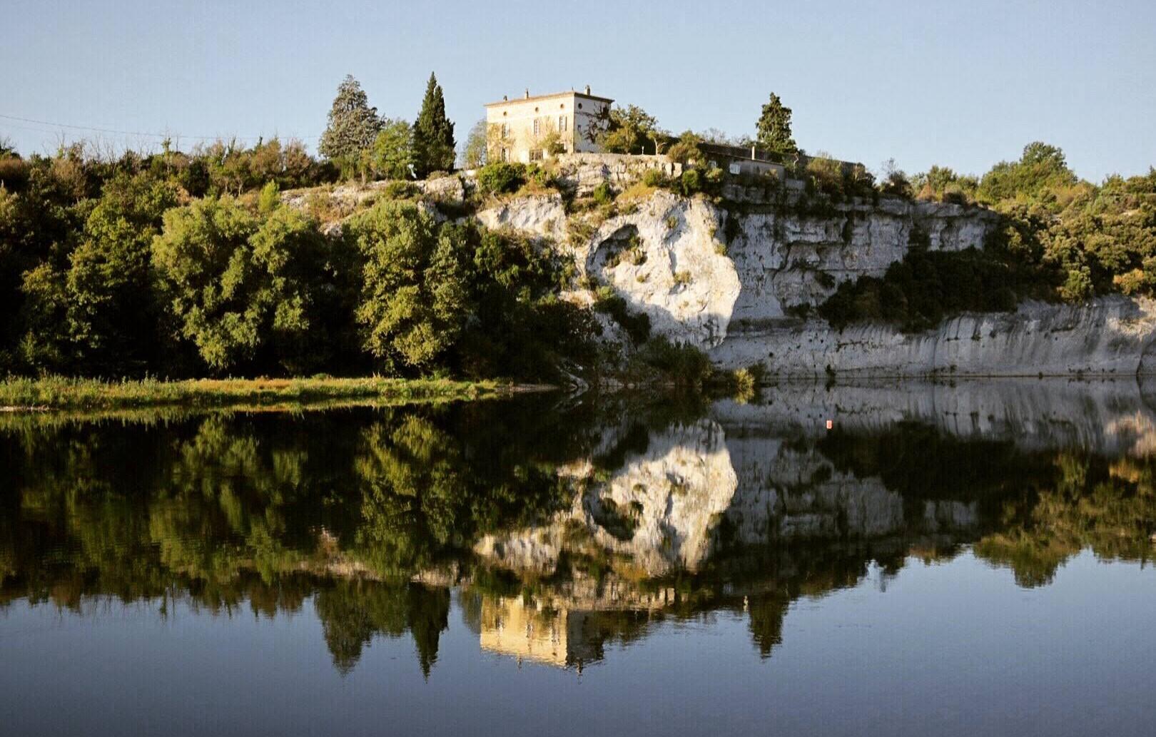 Plan d'eau de Sauze à Saint Martin d'Ardèche